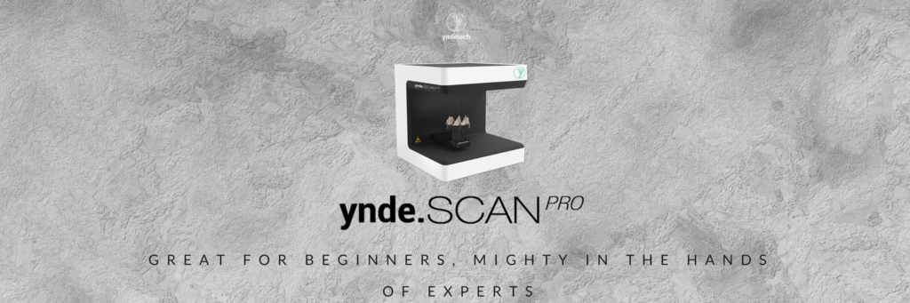 ynde SCAN PRO the 3D dental scanner for your lab | YNDETECH