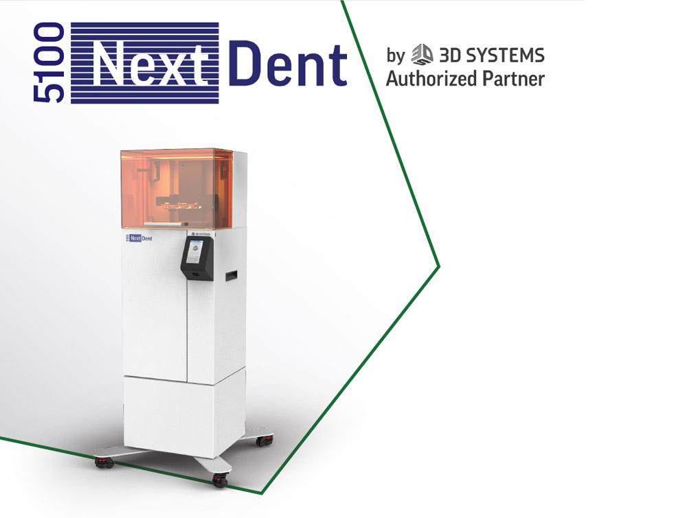 Stampante 3D dentale Nextdent di Yndetech