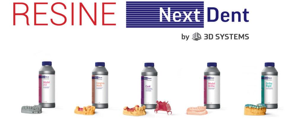 Resine Nextdent in vendita da Yndetech