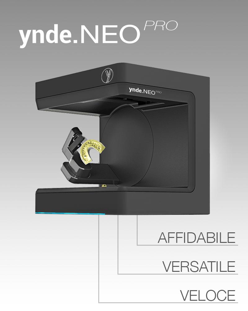 Aiop 2019 Scanner 3D da banco YndeNeo Pro