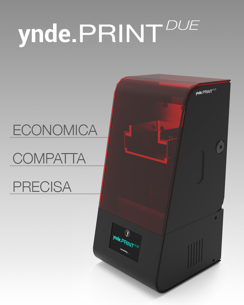 Aiop 2019 - stampante 3D yndeprint due yndetech