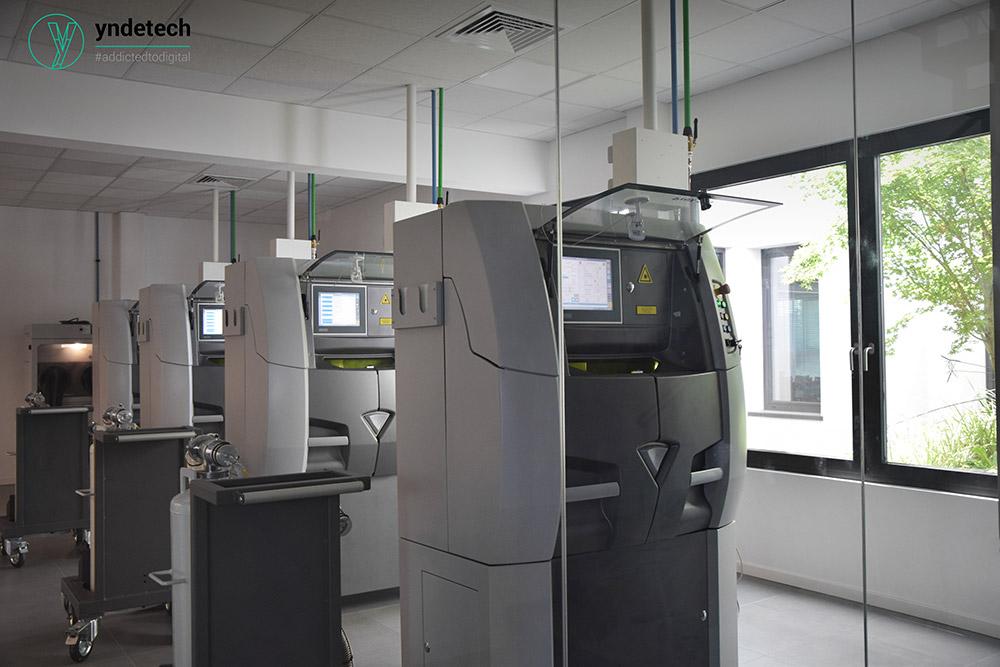 stampanti 3d per scheletrato in laser melting yndetech